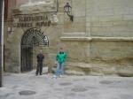 Albergue de Viana  con Juanma