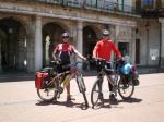 Rafael y Antonio en Burgos