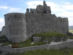 castillo alto del cerro de castrojeriz