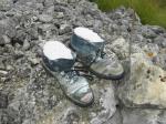 las botas cementeras