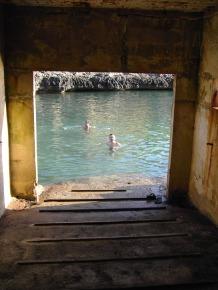 interior del embarcadero
