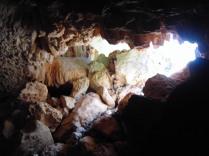 La salida de cova Cala Pilota