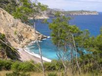 ...playa d´es Coll Baix