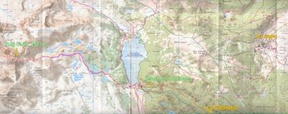 Carta topographique TOP25 1:25.000 FONT-ROMEU (Capcir) 2249ET