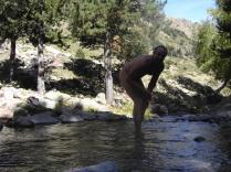 ¡¡Qué fría está el agua!!