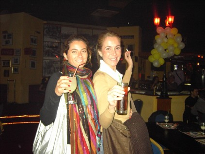 Loretta y Amparo