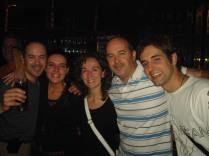 Rafa, Violeta, Marisa, Joaquín y Javier