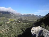 vista de Orient y Massanella