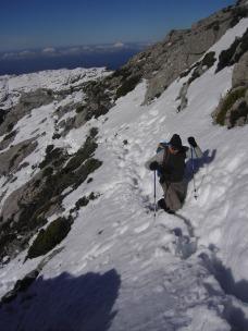 hacia el Puig de Massanella