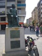 escultura Miguel de Cervantes