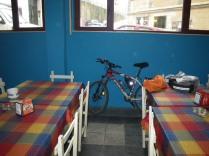 el bar, guarda bicis