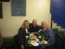 con Yini y José