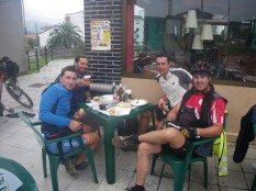 Con Adrián, Marcos y Juan, de Valencia