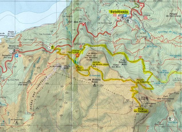 mapa recorrido
