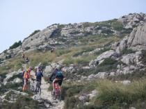 hacia el Puig Gros