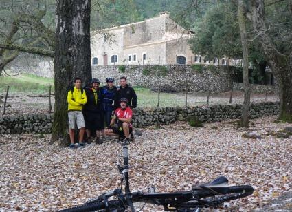 Sergi, Ángel, Marga, J.Carlos y Rafa