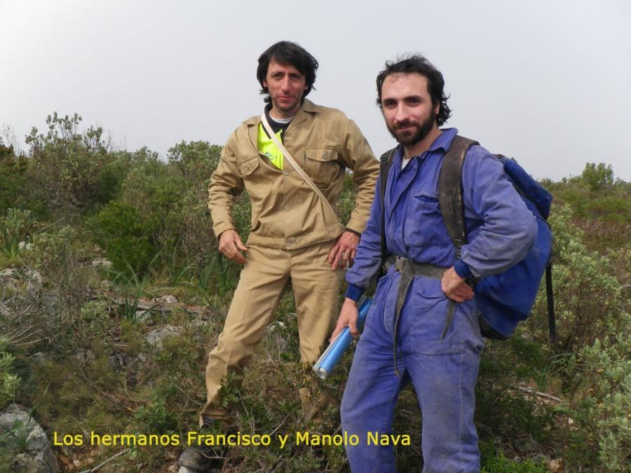 Los hermanos Francisco y Manolo Nava
