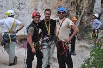 Rafa, Marcos y Jeremi