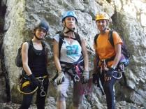 Las tres Féminas, Alba, MªJosé y Carmen