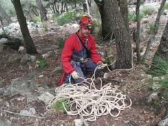 montando cuerda