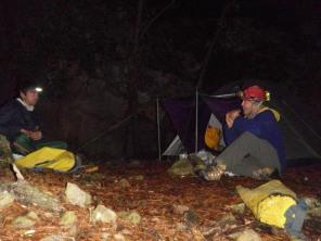 en nuestro campamento