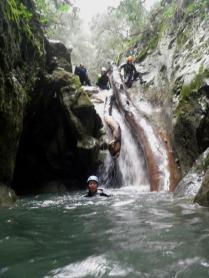 otro tronco en cascada