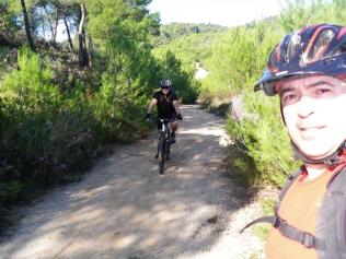 descenso del Puig Gros de Bendinat