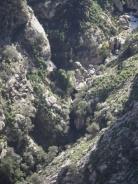 vista del torrent des Gorg Blau