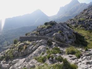 al fondo el Puig Major