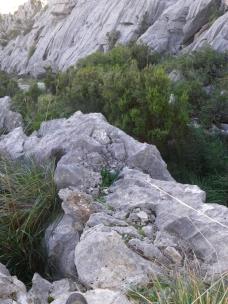 restos camino antiguo de paso