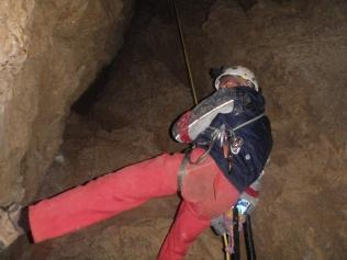 don J.Vicente ascendiendo al exterior