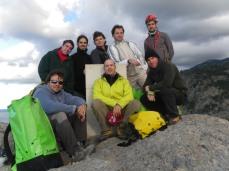 Antonio,Josemi,,Adolfo,Félix,Marcos, abajo:Jeremy, yo y Rafa-rata-