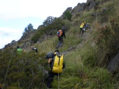 Ascenso al collado