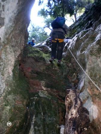 Descenso del primer salto