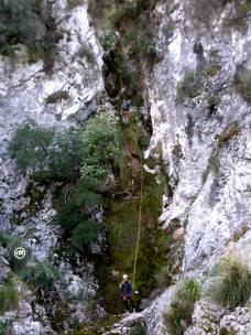 Espectacular descenso