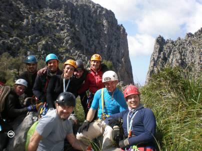 Rafa, Josemi, Antº José, Anabel, Antonio, Carmen, Félix, Soto y Rafael.