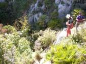 preparándose para el descenso