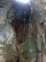 vista del primer descenso