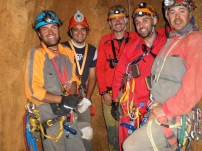 Antº José, Jeremy, Edi, Paco y Rafael
