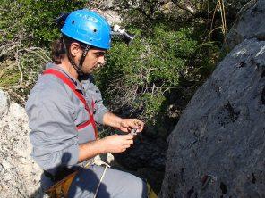 Josemi preparando instalación