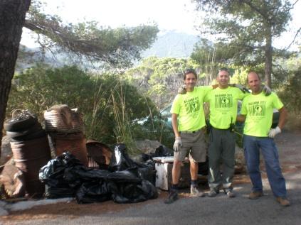 Marcos Herreros, Rafa Minguillón y Rafa González, parte de la asociación Balearik