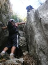 escalando sin parar