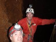 Vicente y Rafa en exploración últimos resaltes