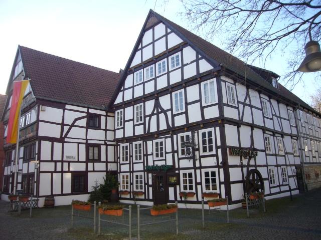 edificio típico. Museum für Stadtgeschichte.