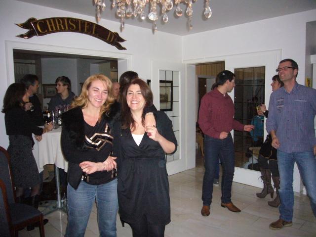 las hermanas García, Pilar y Manoli