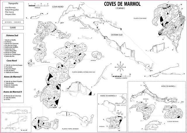 topografía COVES-DE-MARMOL