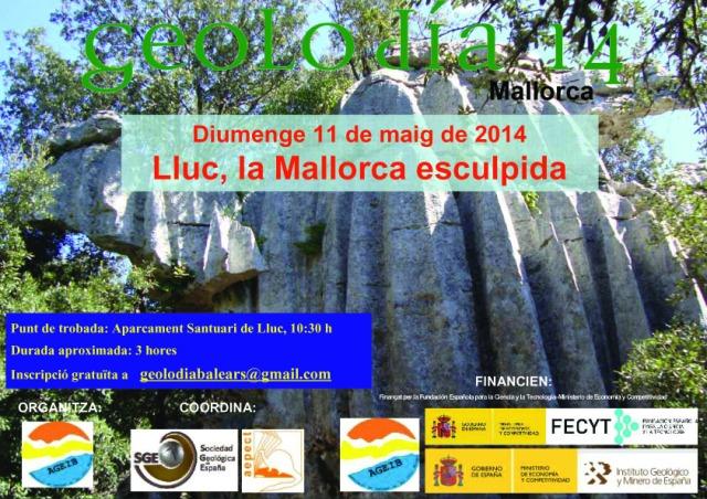 Poster Geolodía Mallorca  2014
