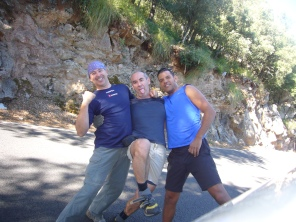 Rafa, José Vicente y Timi