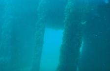 buceo fantasmagórico en Dique Oeste