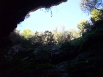biciespeleo: cova-avenc de na Picacento